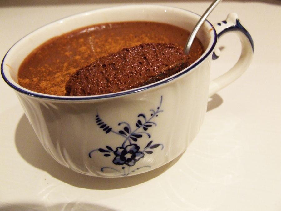 super light dark Cocoa/ Chocolate mousse