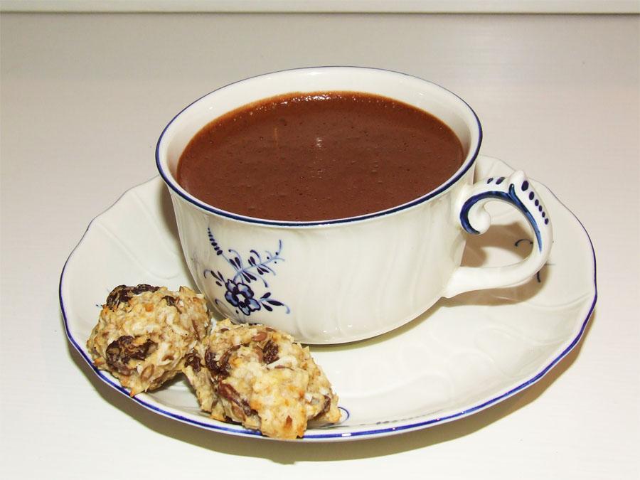 super light dark Cocoa / Chocolate mousse 2