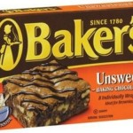 100% Baker's unsweetened chocolate