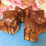 Sugar free Marble Cake with Chestnut flour