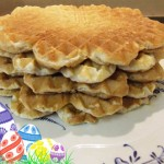 Sugar free Quark Waffles with Stevia