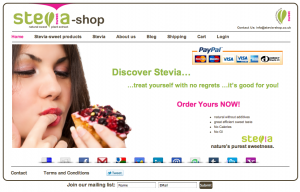 stevia-sweet online shopping England