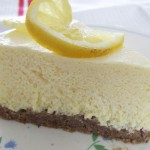 Lemon fridge cheesecake – sugar free