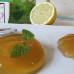 Refreshing peppermint tea jelly – with delightful health benefits for digestion.