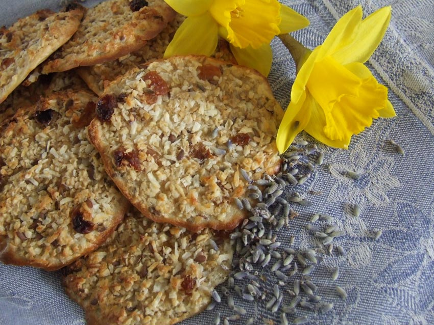Mrs Meiers oat bites – soft Lavender with stevia