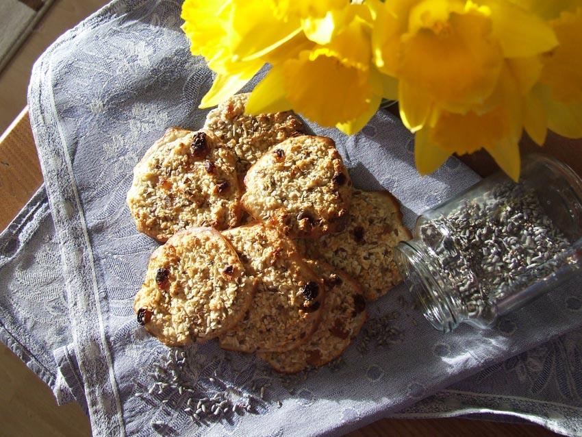 Mrs Meiers oat bites-soft Lavender flavour with stevia-sweet