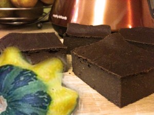 smooth pumpkin brownie stevia sweetened