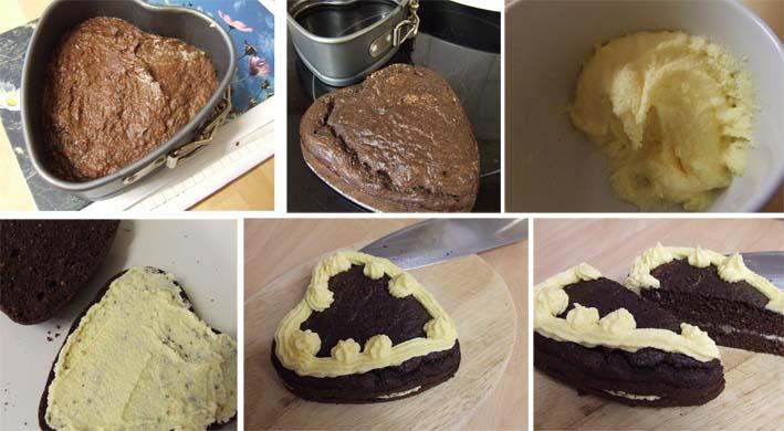 Coconut Flour Almond Sponge Cake - Sugar FREE with Stevia step by step