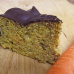 recipe for sugar free - Carrot cake with stevia - gluten free