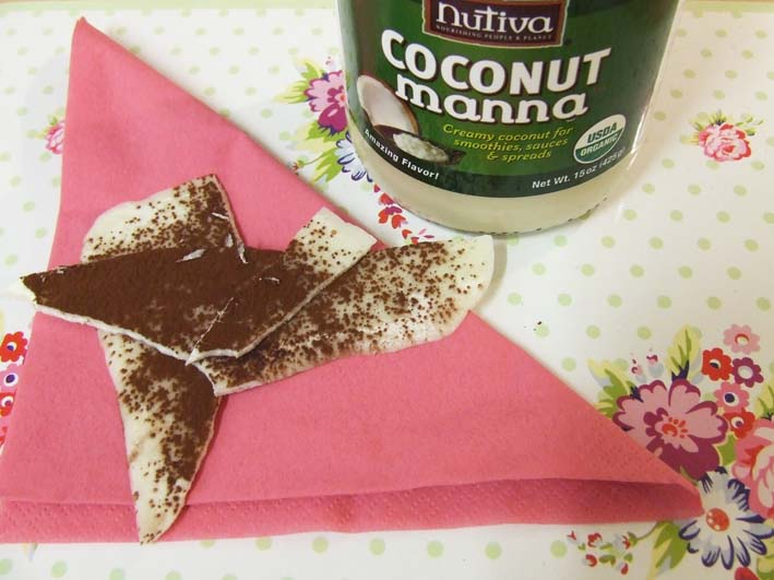 Coconut manna confect with cocoa dusting main