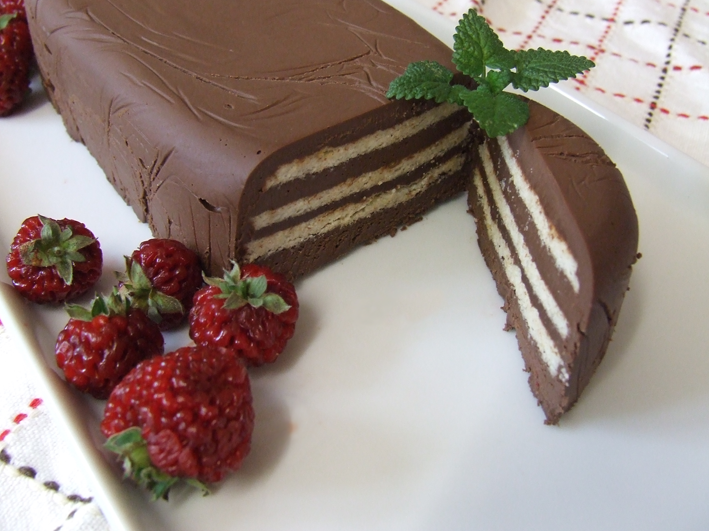 Kalte Schnauze or Groom's cake, make it Paleo style_No sugar_use Stevia