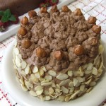 recipe for Ferrero Rocher layer cake - Paleo style