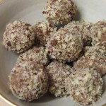 Ferrero Rocher ice cream truffle balls