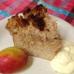 Paleo Plumb Crumble, sugar free and gluten free